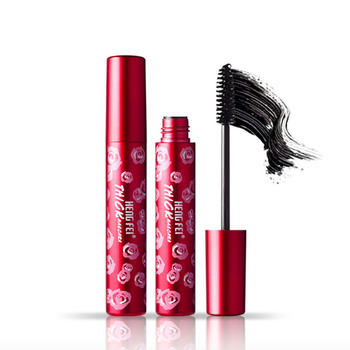 4d resistente al agua Fibra de seda pestañas gruesas máscara cilios maquillaje rimel extra volumen encanto sed de maquillaje kozmetik