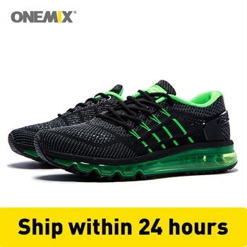Onemix Men Women Air Running Shoes for Men Air Brand 2017 outdoor sport sneakers male athletic shoe breathable zapatos de hombre конструктор enlighten brick genius tailors 348 элементов brick2606
