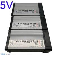 IP54 impermeable al aire libre 5V fuente de alimentación LED interruptor de potencia controlador de transformador AC220V a DC5V 40A 60A 70A 200W 300W 350W