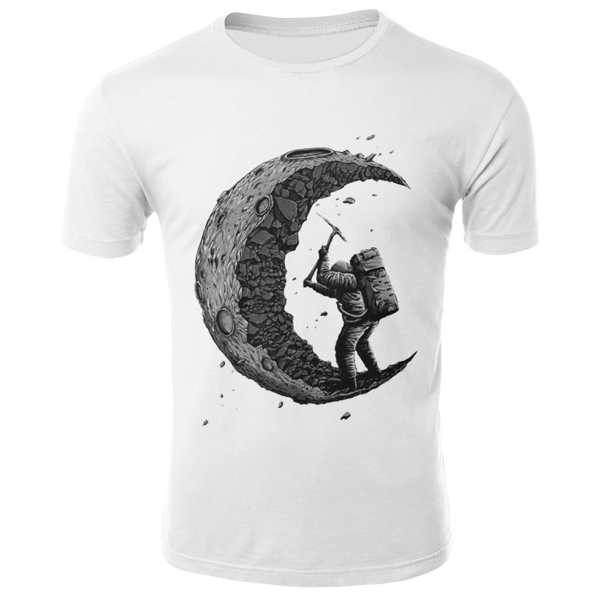 2021 New Men's and women's solid printed t-shirt men's and women's top solid printed T-shirt solid printed Top Casual top 3D