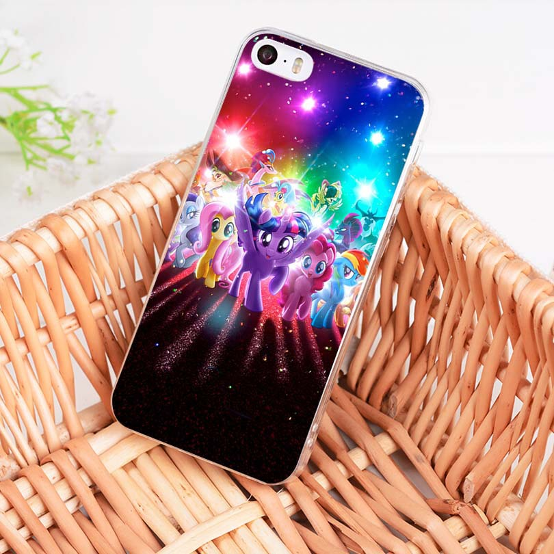 Binful Magic My Little Pony Soft Tpu Phone Case Cover For IPhone 8 7 6 6S Plus X XS XR 10 5 5S SE 5C Case Coque