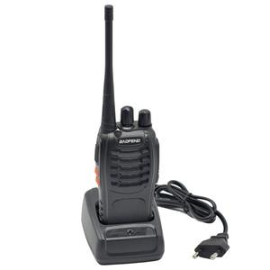 Image 2 - 2 pièces 16 canaux Baofeng BF 888S talkie walkie UHF 400 470MHz Radio bidirectionnelle Portable radioamateur émetteur récepteur Portable