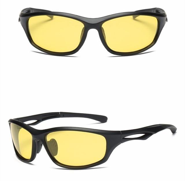 Anti Glare Night Driving Glasses For Headlight Polarized Driving Sunglasses UV400 4