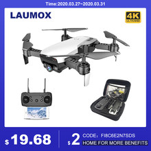 Laumox M69G Fpv Rc Drone 4K Camera Optische Stroom Selfie Dron Opvouwbare Wifi Quadcopter Helicopter Vs Visuo XS816 SG106 SG700 X12(China)