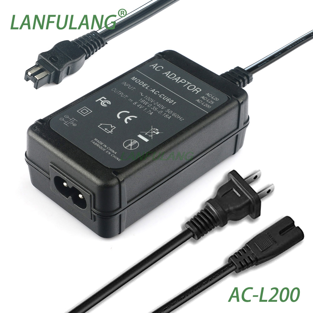 AC Wall Battery Power Charger Adapter Compatible Sony DCR-SR200 Handycam Taelectric