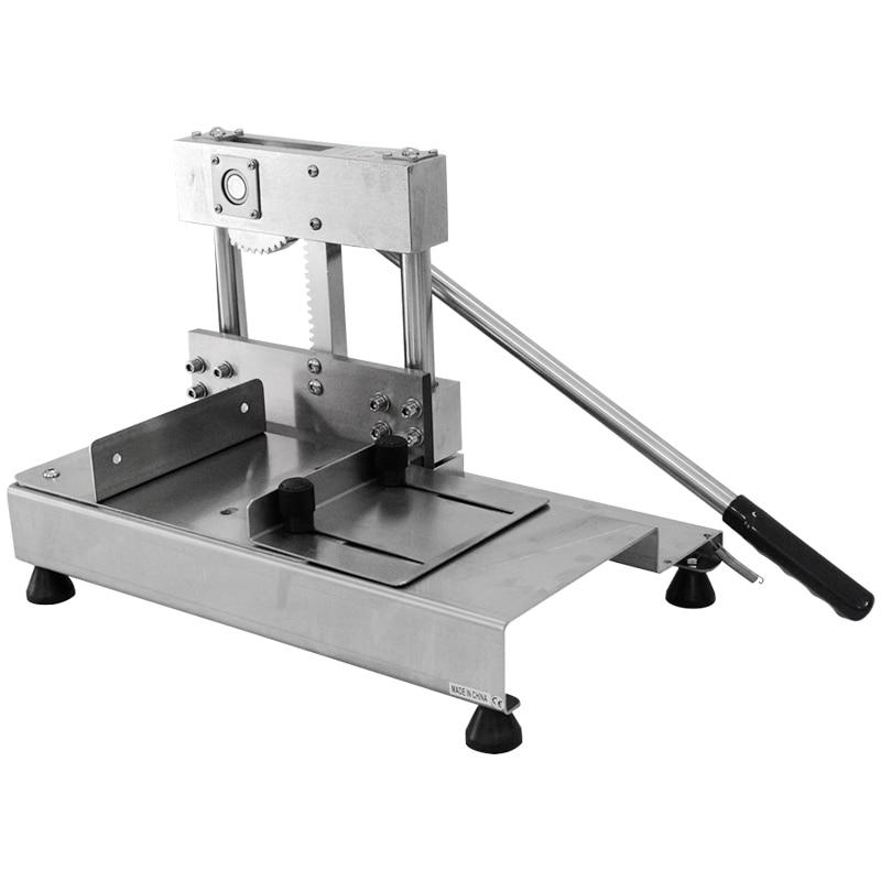 XEOLEO Bone Sawing Machine Manual Meat Cutter Bone Guillotine Stainless Steel Cut Trotter/Ribs/Frozen Meat Machine Bone Cutter