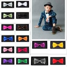 Лидер продаж; Детский галстук; Свадебная вечеринка; регулируемая детская игрушка; галстук-бабочка; одежда; Прямая ; corbatas para hombre