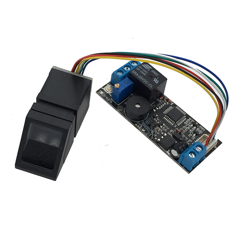 K202+R307 DC12V Low Power Consumption Fingerprint Control Board + R307 Fingerprint Module