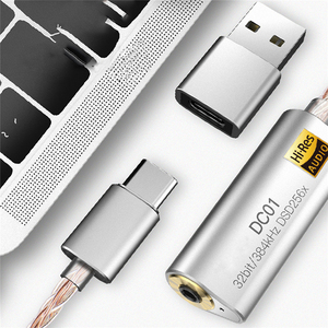 Image 4 - ポータブルヘッドフォンアンプ用 iBasso DC01 DC02 USB dac の Android PC 錠 2.5 ミリメートル 3.5 ミリメートルハイファイ雇用アダプタタイプ C