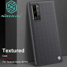 Coque en nylon texturé Nillkin pour Huawei Honor 30 Pro + Plus