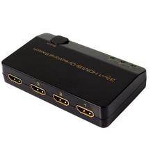3X1 Bi Directional HDMI SWITCH Splitter 3X1 1X3 4KX2K/30HZ 3X1 สำหรับ PC แล็ปท็อป HDTV DVD