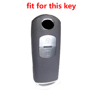 Image 4 - Key Holder for Mazda Cx5 Silicone Car Key Cover Case for Mazda 2 CX 5 Atenza CX 7 CX 9 CX 3 CX 4 CX 8 MX5 Key Car Accessories