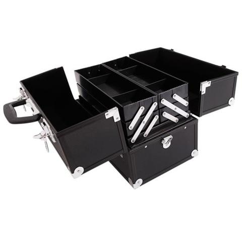 de liga aluminio preto caixa