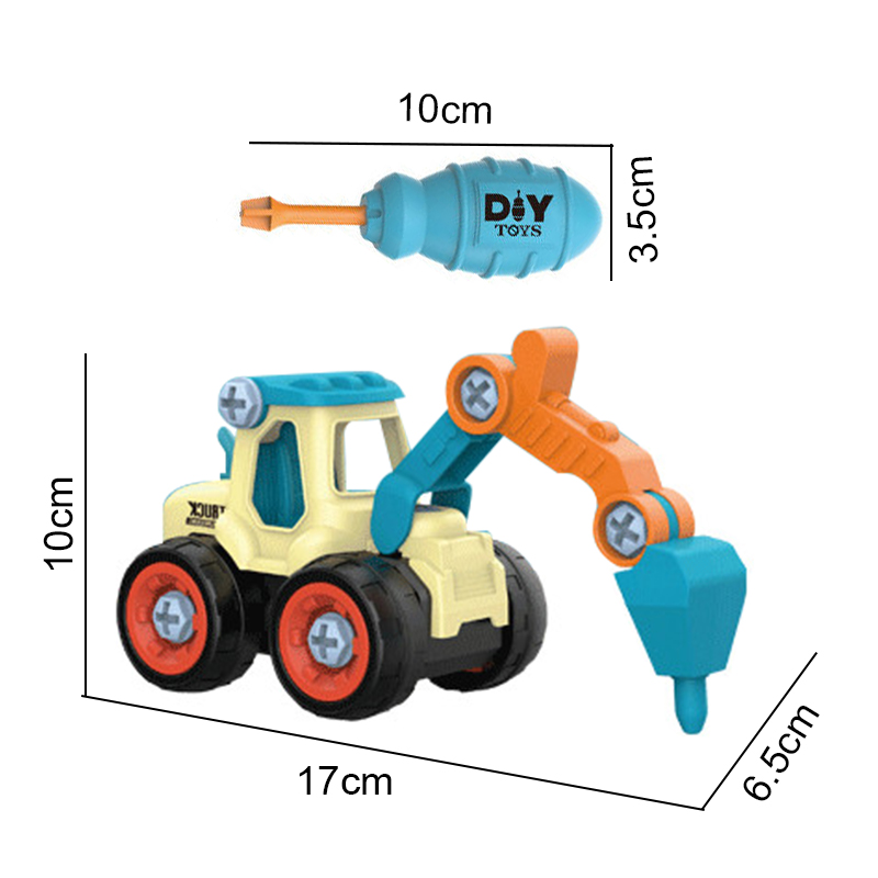 DIY Truck Engineering Toys 14