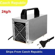 Портативный генератор озона очиститель воздуха Стерилизация для очистки формальдегида ионизатор ozonizador Озон 24 Гц/ч 220v
