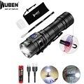 WUBEN E05 светодиодный фонарик EDC Мини свет 900 Люмен USB Перезаряжаемый водонепроницаемый мини-фонарик с батареей  магнитный свет