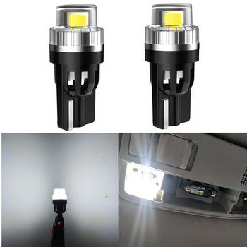 2pcs W5W LED T10 LED Bulbs Canbus For BMW e60 e90 e39 f10 Audi a3 8p a4 b8 Car Parking Position Lights Interior Map Dome Lights image