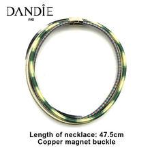 Модное Тканое ожерелье из хлопчатобумажной веревки для танцев
