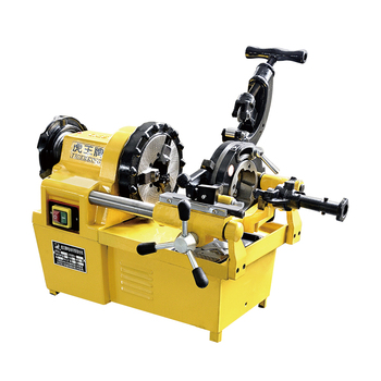 2-inch Electric Threading Machine Multifunction Light Wire Machine Pipe Cutting Fire Hose Light Pipe Cutting Threading Machine недорого