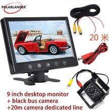 12V Rück Kamera Fernbedienung 7 Zoll oder 9 Zoll TFT LCD Farbe Screen Display Bildschirm Auto Monitor 2 weg Video Eingang Kopfstütze