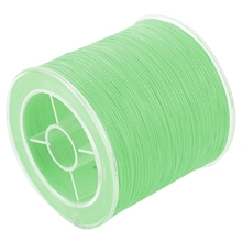 500 м 50 фунтов красочные 4 нити мультифиламентная PE плетеная леска(зеленый светильник