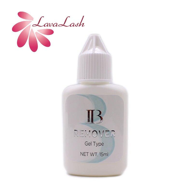 1 garrafa coreia ibeauty claro gel removedor lash extensao removedor transparente para cilios extensao cola removedor