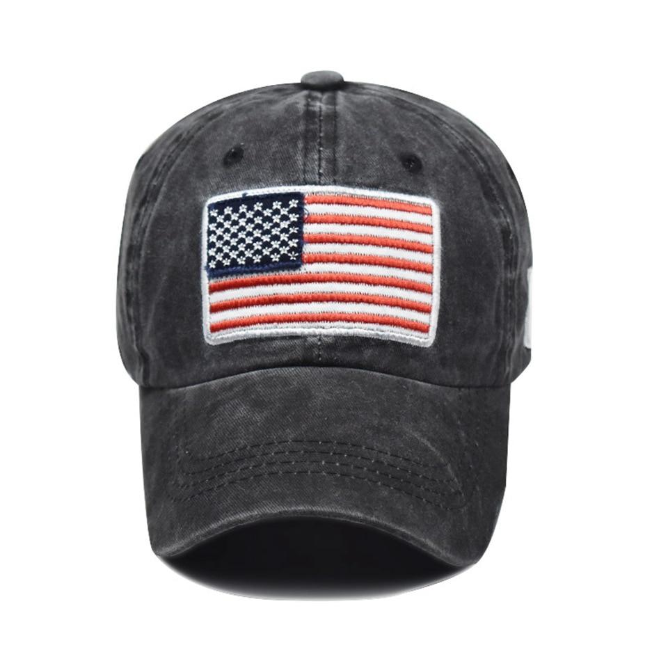 Berretto da Baseball uomo Tactical Army Cotton Military Dad Hat USA American Flag US Unisex Hip Hop Hat Sport Caps cappelli 2