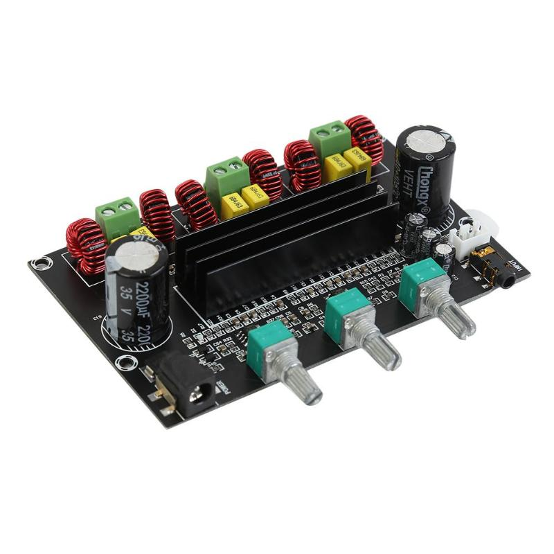 <font><b>TPA3116D2</b></font> <font><b>Subwoofer</b></font> 80Wx2+100W DC24V 14-100KHZ <font><b>2.1</b></font> Channel Digital Audio Amplifier Board Channel amplified version image