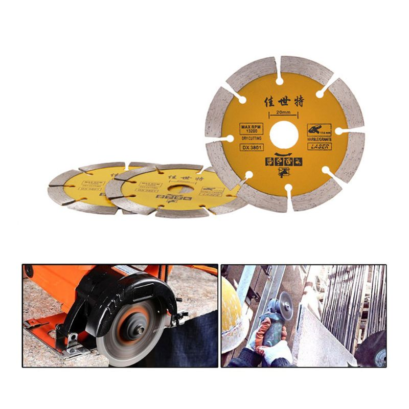 110mm Diamond Saw Blade Angle Grinder Marble Stone Cutting Disc Ceramic Concrete