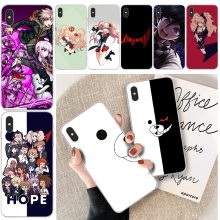 BaweiTE Danganronpa Monokuma Quality Phone Case For iphone 6 6s plus 7 8 plus X XS XR XS MAX 11 11 pro 11 Pro Max Cover lovebay geometri customer high quality phone case for iphone 6 6s plus 7 8 plus x xs xr xs max 11 11 pro 11 pro max cover