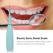 цена на Portable Electric Sonic Dental Scaler Tooth Calculus Remover Tooth Stains Tartar Eraser Home Use Toothwash Tool