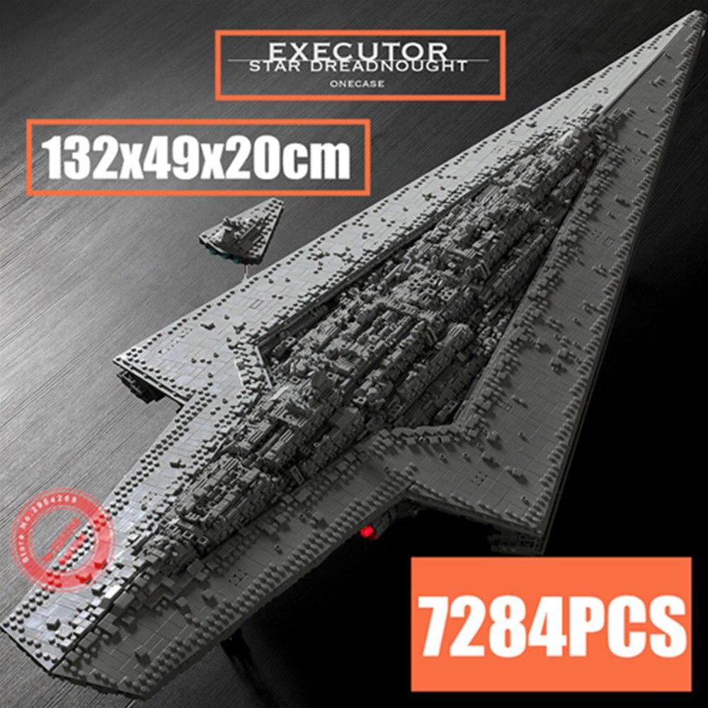 Nouveau Super exécuteur classe étoile Dreadnought MOC-15881 ajustement Legoings Star Wars technique navire modèle bloc de construction briques jouets cadeaux
