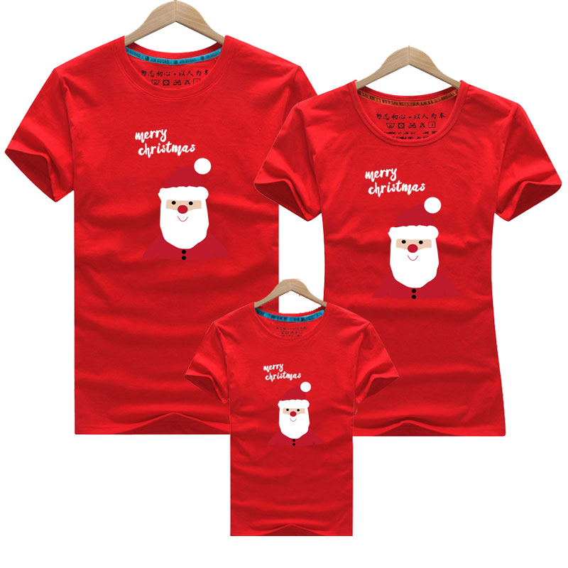 Family Look for Dad Mom and ME 2020 Father Mother Daughter Son Christmas New Year Cotton Sweater Outfits Family Matching Clothes
