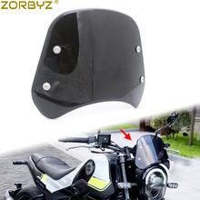 ZORBYZ 1 комплект дымовая фара лобовое стекло обтекатель ветрового стекла дефлектор для Benelli Leoncino 250