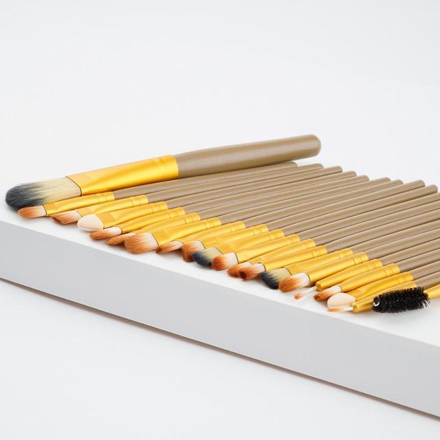 20Pcs Makeup Brush Sets Eye Shadow Foundation Powder Eyeliner Eyelash Lip Make Up Brushes Cosmetic Beauty Tool Kit Hot 2
