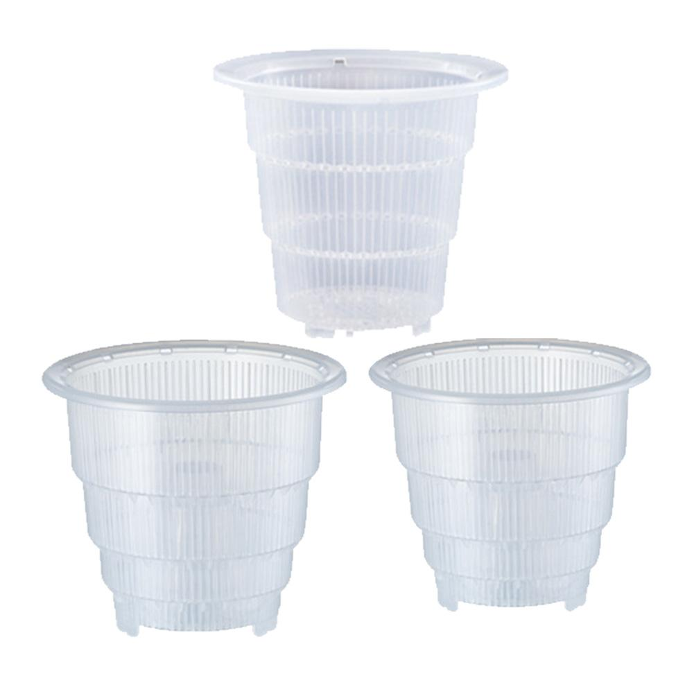 Orchid Flower Container Planter Durable Fleshy Flower Pot With Holes Home Gardening Decoration