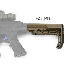 Taktische lager Mission Gewehr M4 Lager Jinming Mil Taktische MF Nach pflege zurück Minimalistischen Mission Lager Gel Ball
