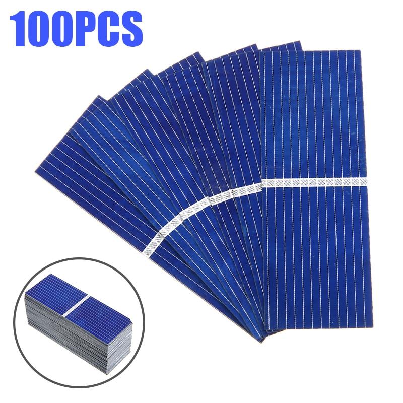 100 pcs set 320ma paineis de bateria solar diy celula solar painel 0 5v carga da