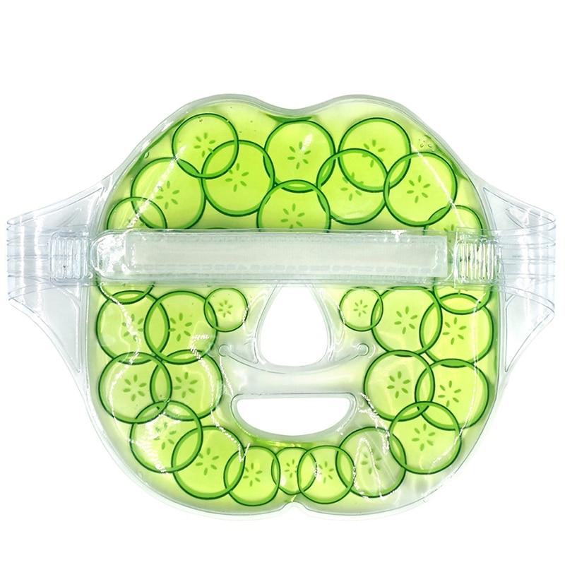 Gel Eye Mask Cold Pad - Heat Compress - Shrink Pores Reduce Wrinkles Repair Sunburn And Dry Skin Cucumber Mask