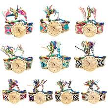 Модные женские плетеные часы в национальном стиле новые этнические