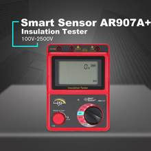 100-2500V Megger Insulation Earth Ground Resistance Tester Megohmmeter AC / DC Voltmeter Tester(China)