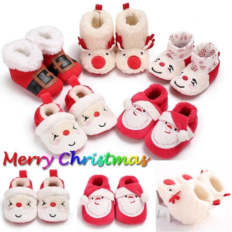 Hot Sale New Newborn Baby Booties Boy Girl Crib Pram Shoes Winter Soft Snow Boots Prewalker Shoes