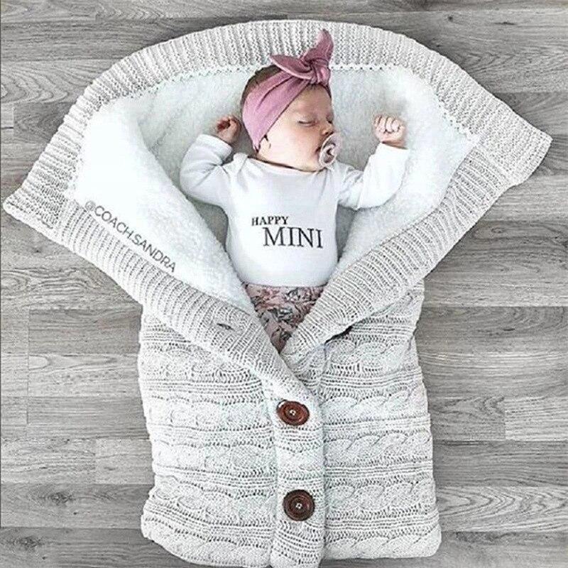 Νεογέννητο μωρό χειμώνα ζεστές - Κλινοσκεπάσματα