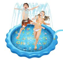 Game-Mat Air-Castle Water-Spray Outdoor Inflatable Kids Et Rctown for Sprinkles Toy-Diameter