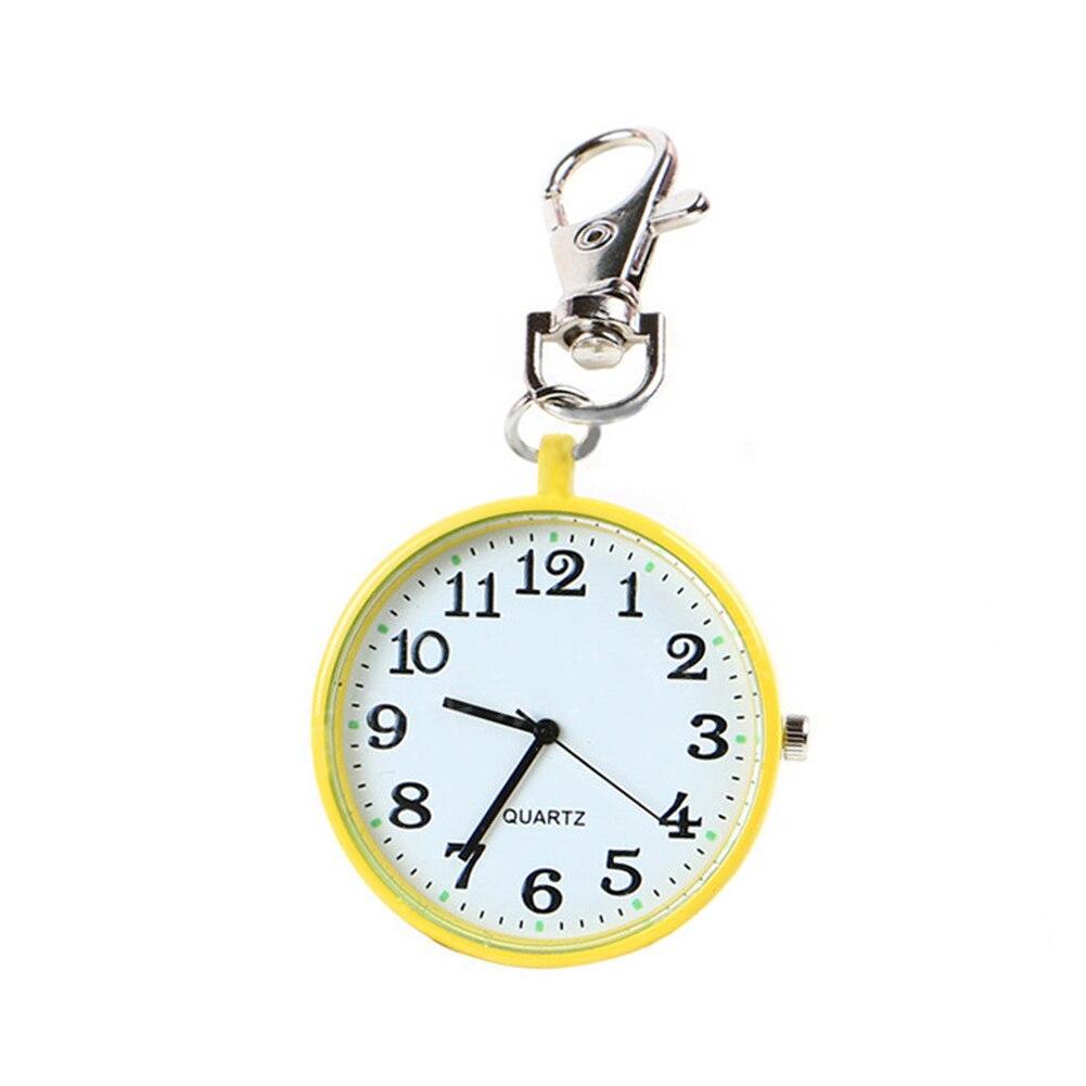 Fasion Pocket Watches Round Dial Quartz Analog Nurse Medical Keychain Pocket Watch Quartz Watches For Women Men Gift @LL