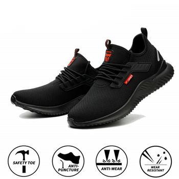 Summer Steel Toe Work Shoes Men Puncture Proof Safety Man Light Industrial Casual Male Workplace Boots - discount item  10% OFF Workplace Safety Supplies