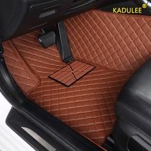 KADULEE Custom car floor mats for Skoda all models octavia fabia rapid superb kodiaq yeti car styling car accessories foot mats