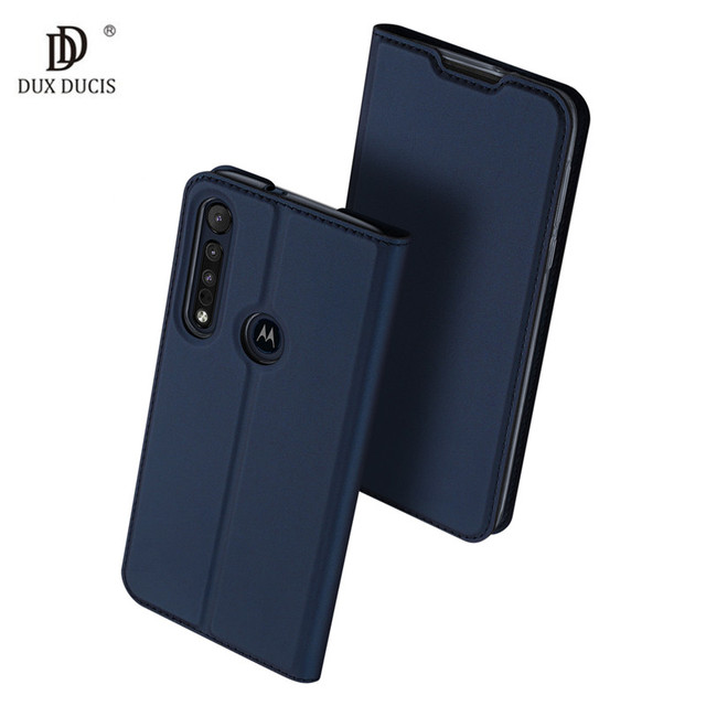 For Motorola Moto G8 Plus Case Luxury Magnetic Flip Leather Case For Motorola Moto G8+ Plus Card Stand Holster Phone Cover