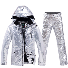 Pants Ski-Suit Snow-Street Clothes-30snowboarding-Sets Women Waterproof Warm And