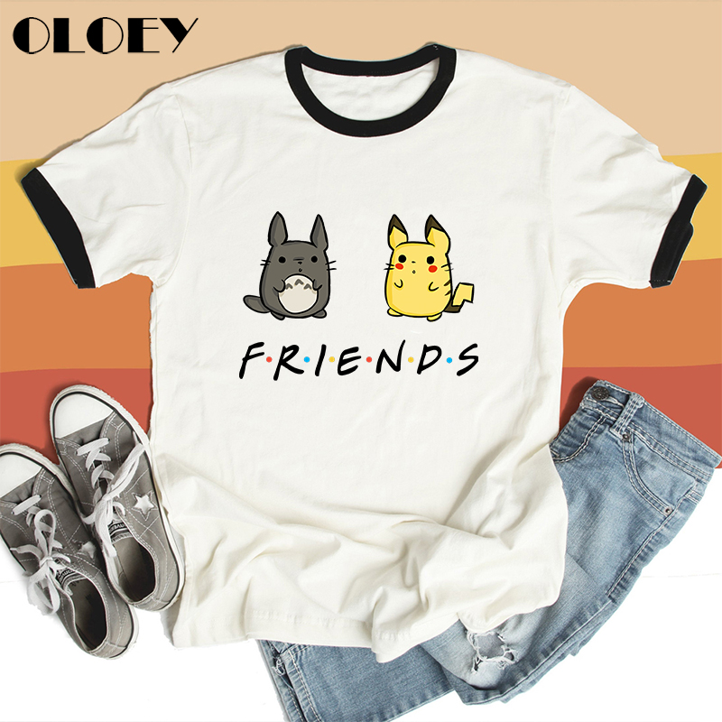 font-b-pokemon-b-font-totoro-friends-t-shirt-women-japan-anime-spirit-away-pikachu-female-clothes-studio-ghibli-cartoon-tee-miyazaki-hayao-top